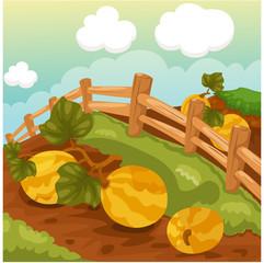 Landscape natural farm
