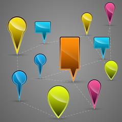 Navigational Vector Icons