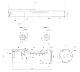 Rod displacement pump