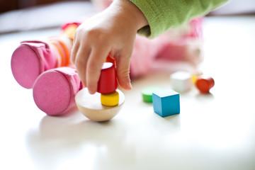 Obraz Nahaufnahme Spielzeug - fototapety do salonu