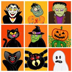Halloween Character Avatars