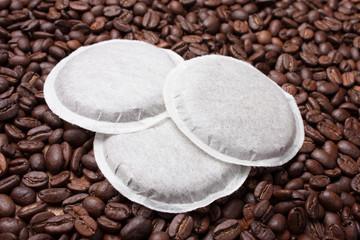 Tuinposter koffiebar Tas de dosettes de café pour machines
