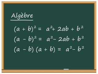 Tableau: leçon d'algèbre
