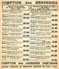 Page de catalogue