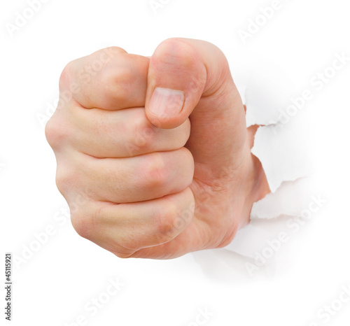 Голый кулак пробьет подставку