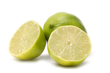 Tropical limes fruit