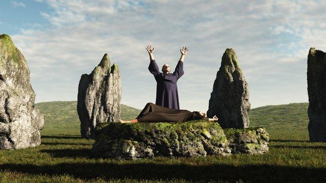 The Druid Sacrifice