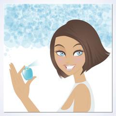 Beauty use perfume