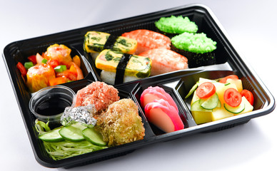 Food box bento lunchbox Japanese food style quick meals