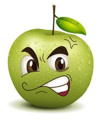 envy apple smiley