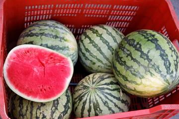 Pastèque, watermelon, wassermelone, sandia, anguria, cocomero
