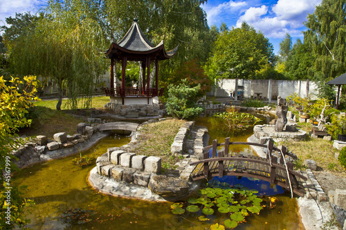 france yvelines vall e de chevreuse jardin chinois yili