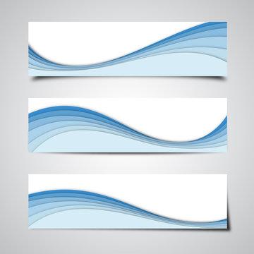 Blue Banner Backgrounds