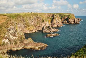 Klify w Szkocji