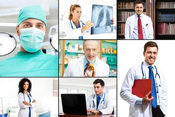 Doctors at work