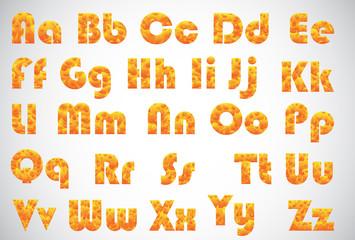 burn alphabet