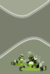 Gocart background