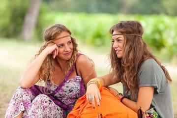 Hippie Women Portrait