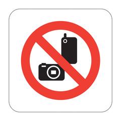 Prohibition Sign No Photos