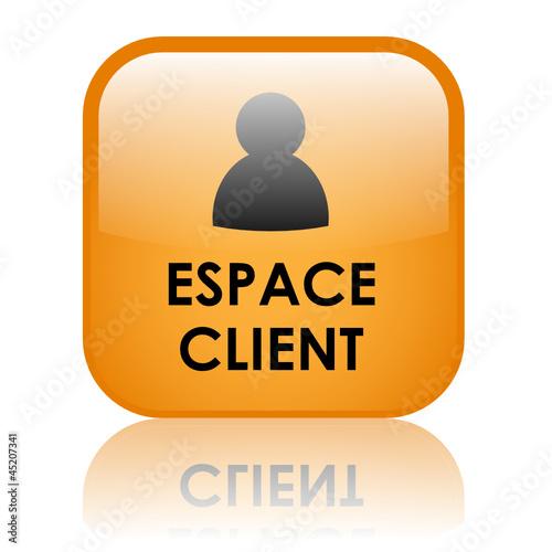 bouton web espace client service clients contact accueil. Black Bedroom Furniture Sets. Home Design Ideas