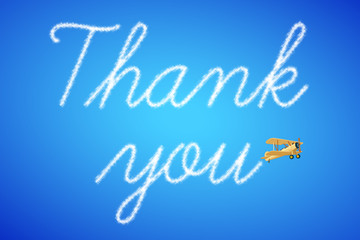 Wolkenschrift - Thank you