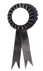Blank Black Ribbon