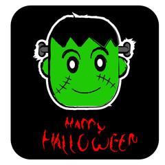 Poster de jardin Creatures halloween icon