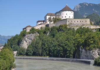 die Festung von Kufstein am Inn in Tirol