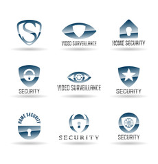 Security and Safety icons. Vol 1.