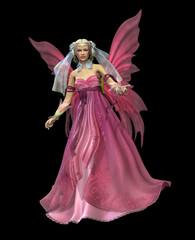 Foto op Aluminium Feeën en elfen Pink Magic CA