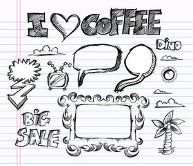 Sketch Doodle Vector Illustration Art