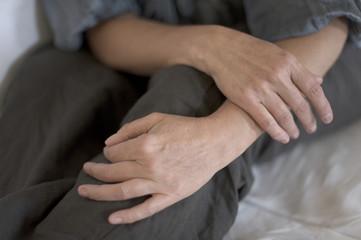 Mains de femme