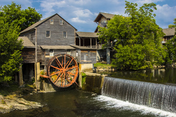 Acrylic Prints Mills Old Mill