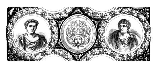 2 Romans - Emperors - Antiquity