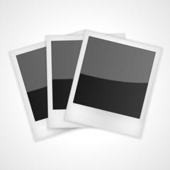 Shiny Polaroid Frames