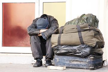 homeless couleur