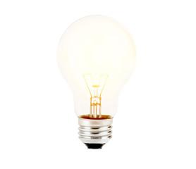shining light bulb