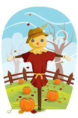 Scarecrow for Fall harvest