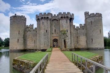 Fotorolgordijn Kasteel chateau fort britannique