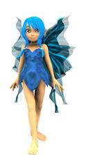 Foto op Aluminium Feeën en elfen Cartoon fairy