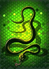 snakegreen