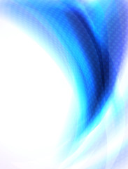 Fototapete - Abstract background with blue blends and shapes