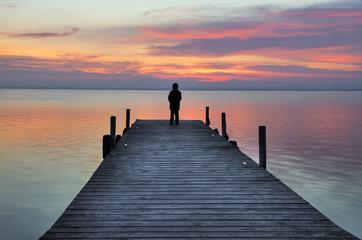 Poster Jetee Pensando en soledad