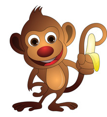 Monkey, illustration
