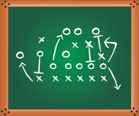 Game plan, illustration