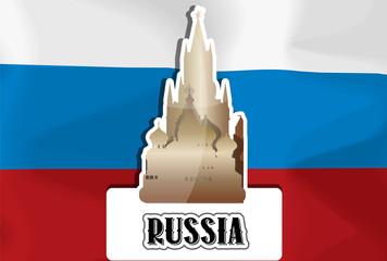 Russia, illustration
