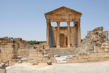 site archéologique de Dougga- teboursouk 8