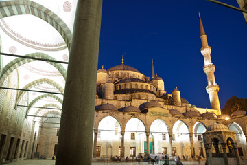 Blue Mosque at Istanbul Turkey