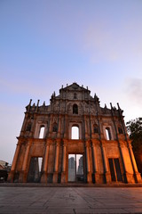 Ruins of Saint Paul cathedral