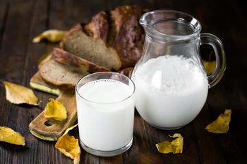 Milk and bread